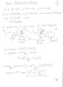 Álgebras de Lie, versión geometría diferencial